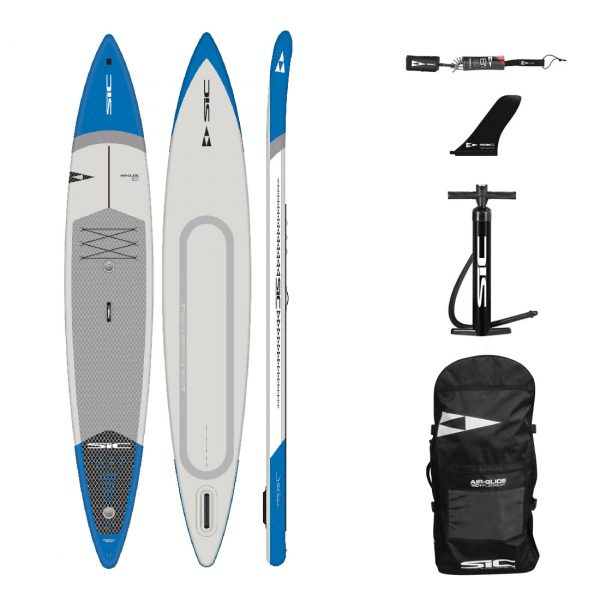 sic maui bullet air 14×28.5 inflatable racing downwinding sup green water sports