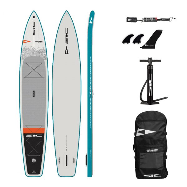 sic maui okeanos 14×30 inflatable touring sup green water sports 1