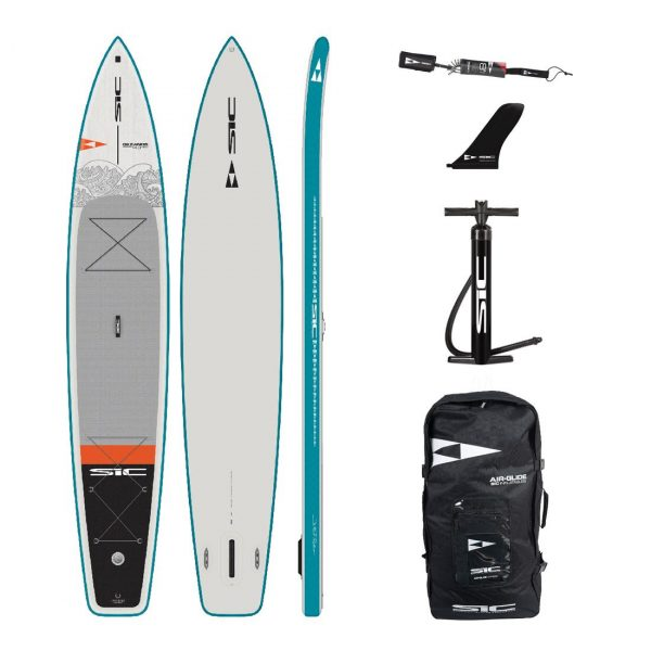 sic maui okeanos 14×30 inflatable touring sup green water sports
