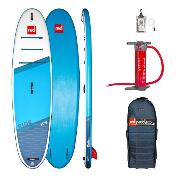 2021 red paddle co 10 6 ride inflatable stand up paddle board sup best all round isup green water sports