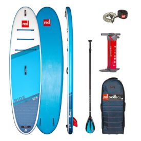 2021 red paddle co 10 6 ride paddle and leash package inflatable stand up paddle board sup best all round isup green water sports