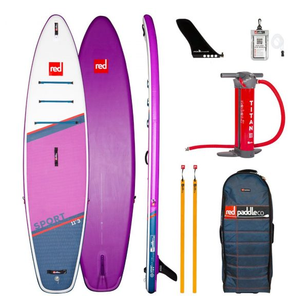 2021 red paddle co 11 3 sport special edition purple best inflatable touring and all round sup paddle board isup green water sports