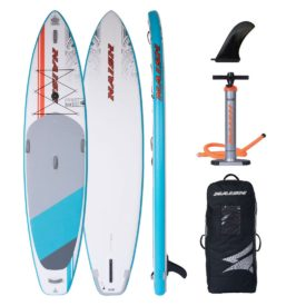 naish inflatable paddle board 12 glide green water sports