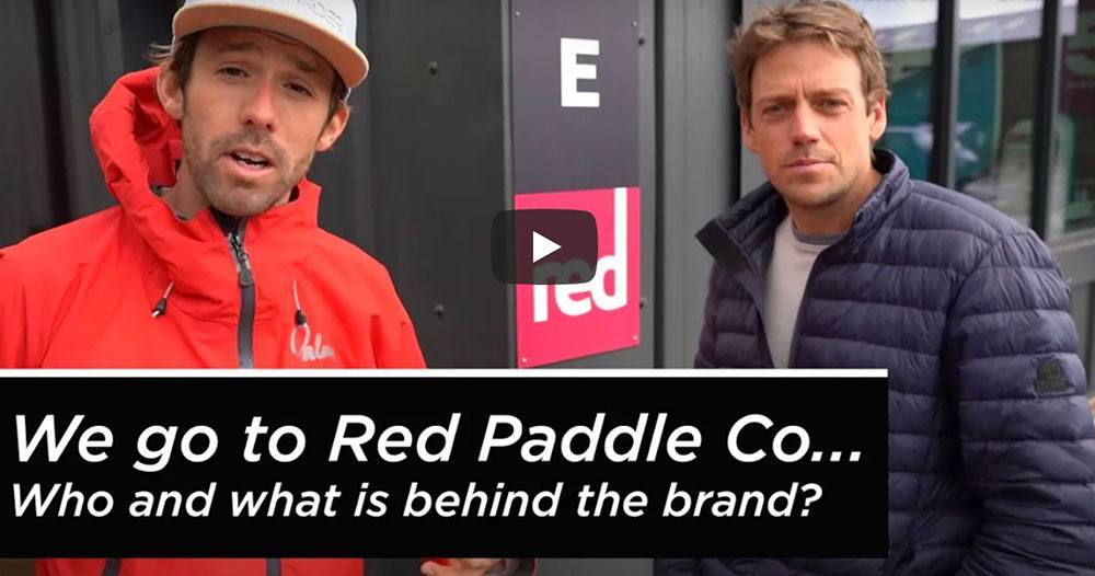 red paddle co 2021 HQ tour