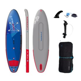 2021 starboard 10 8 x 33 igo deluxe double chamber stand up inflatable paddle board sup green water sports