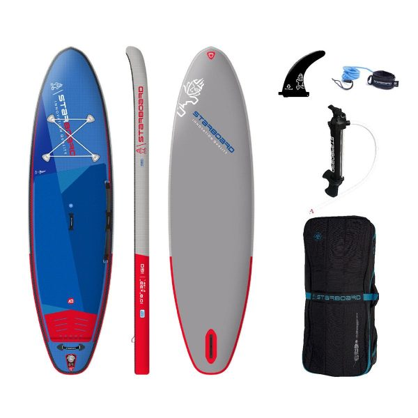 2021 starboard 10 8 x 33 igo deluxe single chamber stand up inflatable paddle board sup green water sports