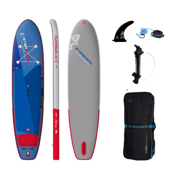2021 starboard 11 2 x 31 igo deluxe single chamber stand up inflatable paddle board sup green water sports