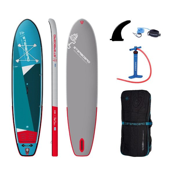 2021 starboard 11 2 x 31 igo zen single chamber stand up inflatable paddle board sup green water sports 1