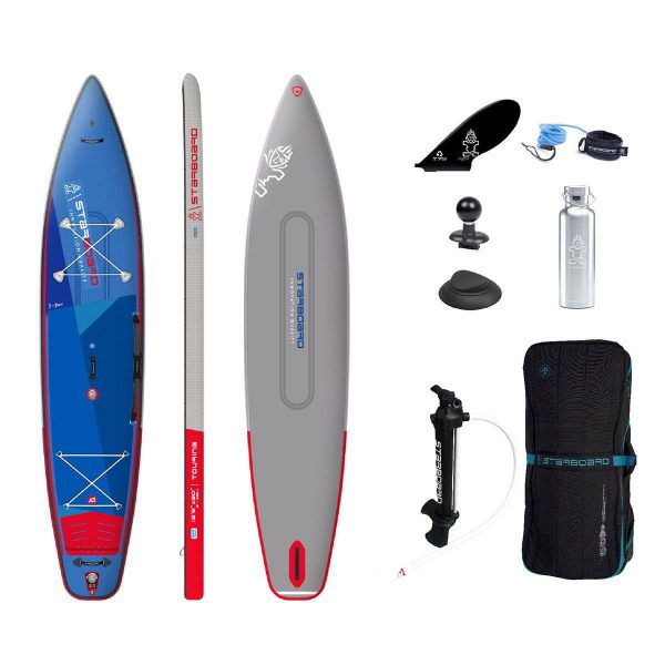 2021 starboard 12 6 x 30 touring deluxe double chamber best inflatable paddle board touring sup green water sports 1