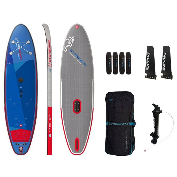 2021 starboard igo 10 8 x 33 sup windsurfer paddle board inflatable sup green water sports