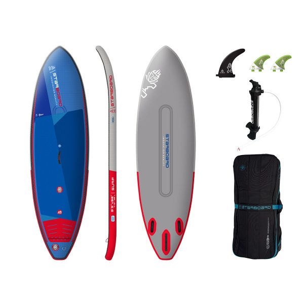 2021 starboard surf 9 5 x 32 inflatable stand up surfing paddle board sup green water sports
