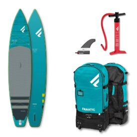 2021 fanatic ray air enduro premium touring inflatable paddle board green water sports