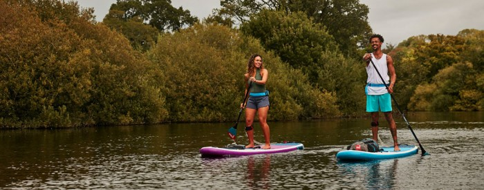 2021 red paddle co ride inflatable all round paddle board nature green water sports