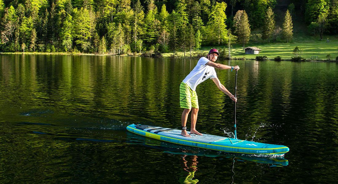 new 2020 ray air premium paddle board green water sports