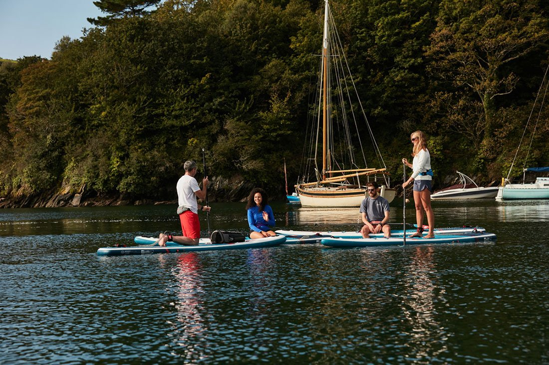 inflatable paddle board sups are versatile green water sports