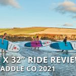 "Review of the 2021 Red Paddle Co 10'6"" x 32"" Ride inflatable paddle board"